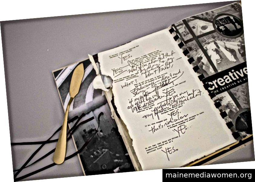 """Das nach Richard Wrights Bericht von der Bandung-Konferenz von 1955 benannte Projekt """"The Color Curtain Project"""" reflektiert die afroasiatische Gemeinschaft (September 2018). Bildnachweis: Tammy Nguyen"""