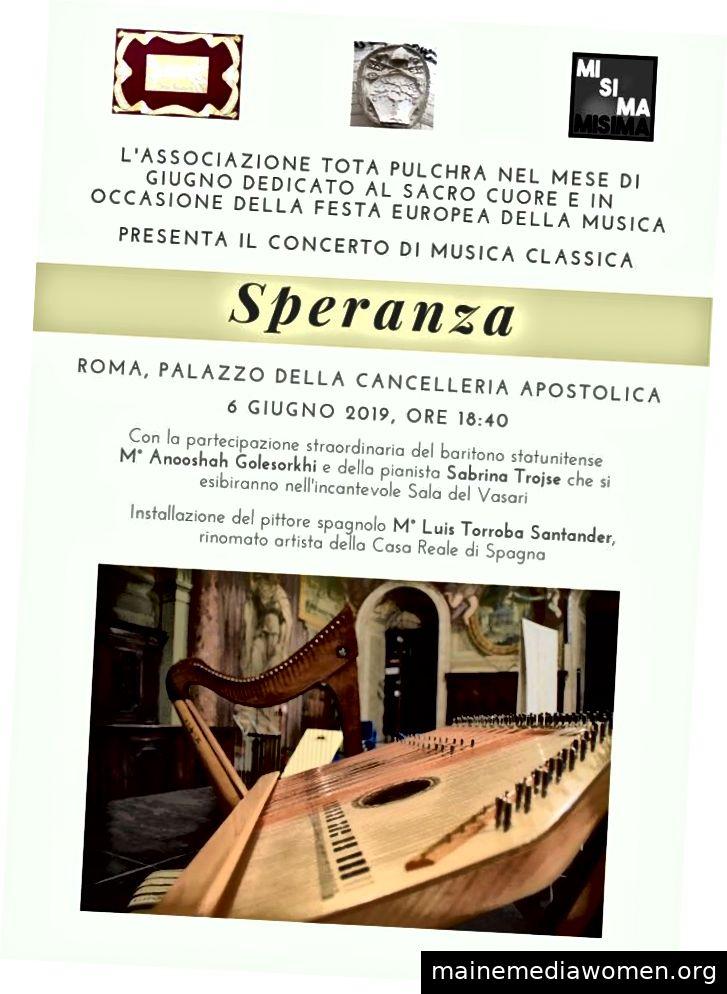 Veranstaltungsbroschüre von Tota Pulchra