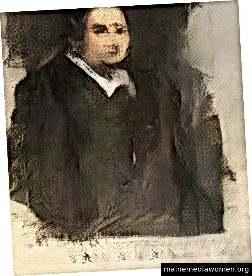 Porträt von Edmond Belamy | Offensichtliche Website