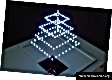 Zwei Arten von Luftbildschirmen von Burton - einer mit einem Medium auf Flüssigkeitsbasis und einer vollständig in Luft -