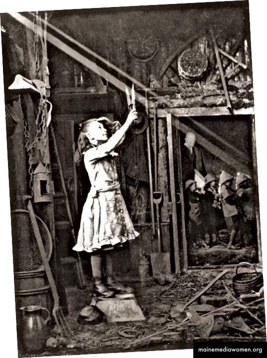 Bild: Adam Diston - Schneiden eines Sonnenstrahls 1886