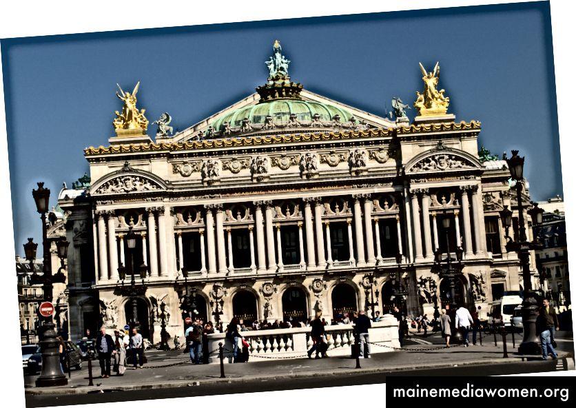Ein Foto des Palais Garnier, Wikipedia