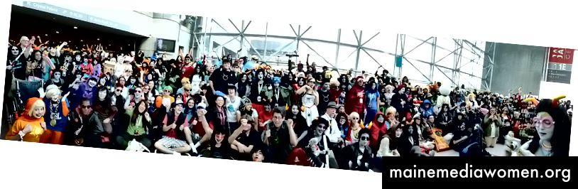 Homestuck-Cosplayer auf der New York Comic Con 2012