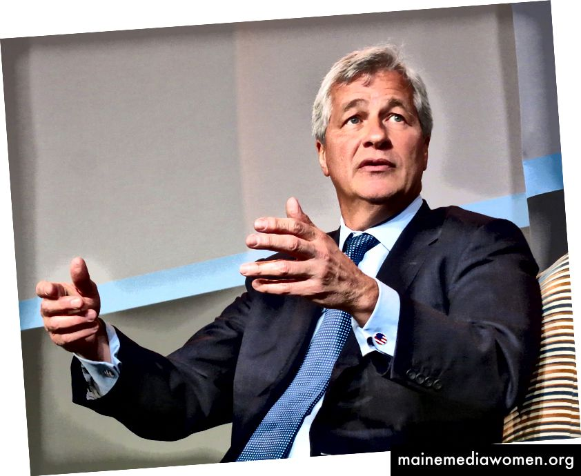 Jamie Dimon auf der JPMorgan Healthcare Investment Conference.