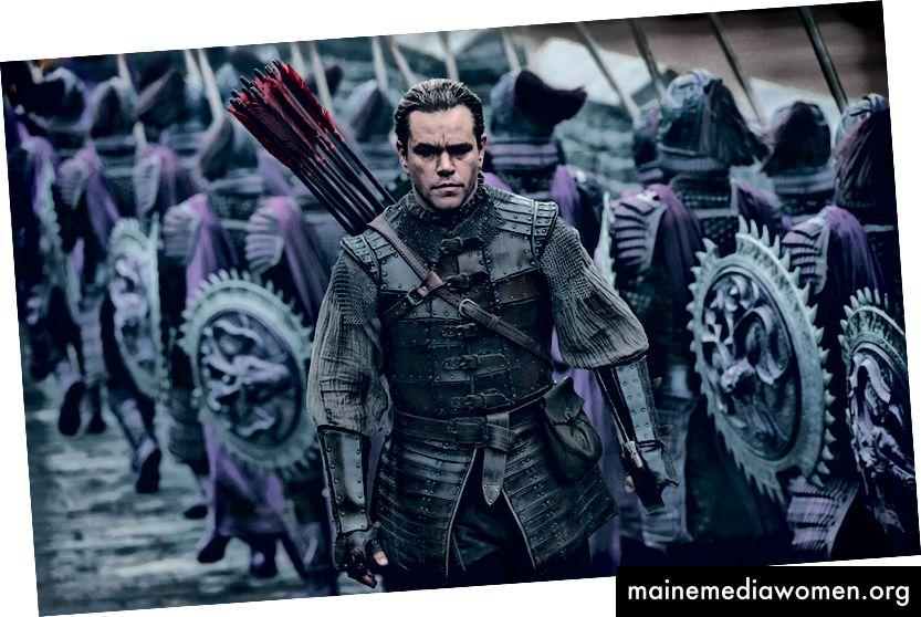 Matt Damon, alter Held von China.