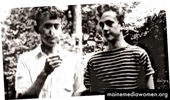 Bernard (links) und Kurt Vonnegut zu Hause, c. 1940 [Quelle]