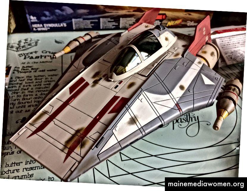 Die Star Wars: Rebellen A-Wing Fighter