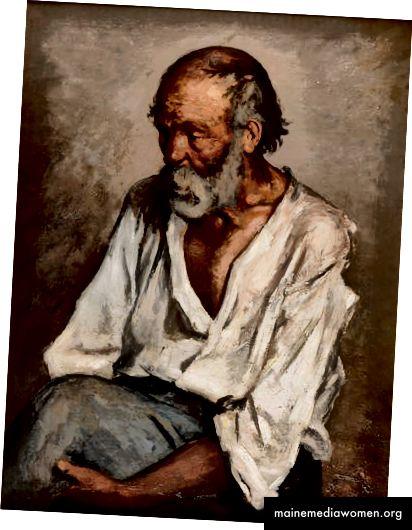 Málaga. Vell pescador 1895 von Pablo Picasso