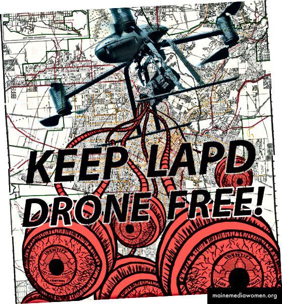 "Dillon. ""Halten Sie LAPD Drone Free!"" 2014."