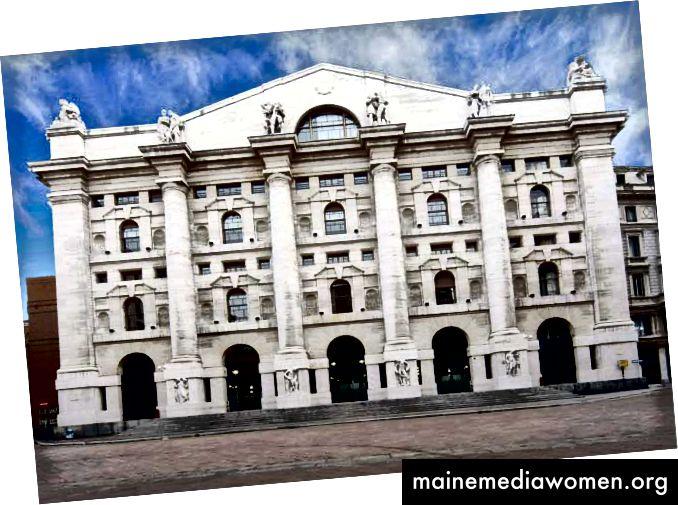 Die 10. jährliche Art & Finance-Konferenz von Deloitte findet im Palazzo Mezzanotte in Mailand statt