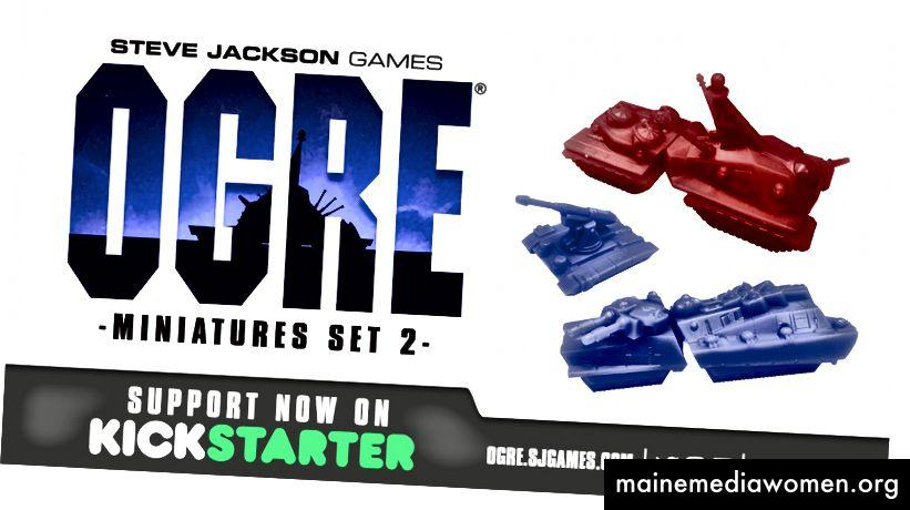 Ogre Miniaturen Set 2 Auf Kickstarter