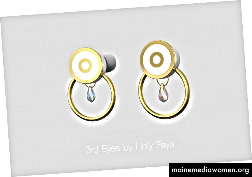 3rd Eyes by Holy Faya ، بطولة Lola Carter & Femi Olagoke / Picture Thibault Le Masson