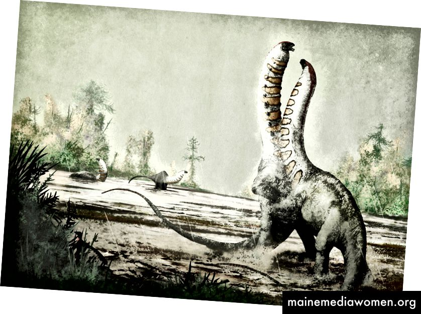 Brontosaurus excelsus in… BRONTOSMASH von Mark Witton