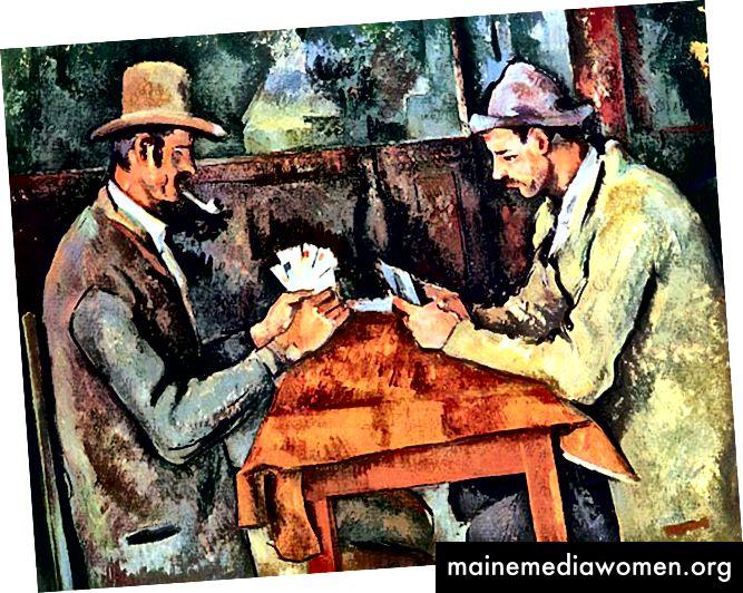Die Kartenspieler - Paul Cezanne (vanityfair.com)