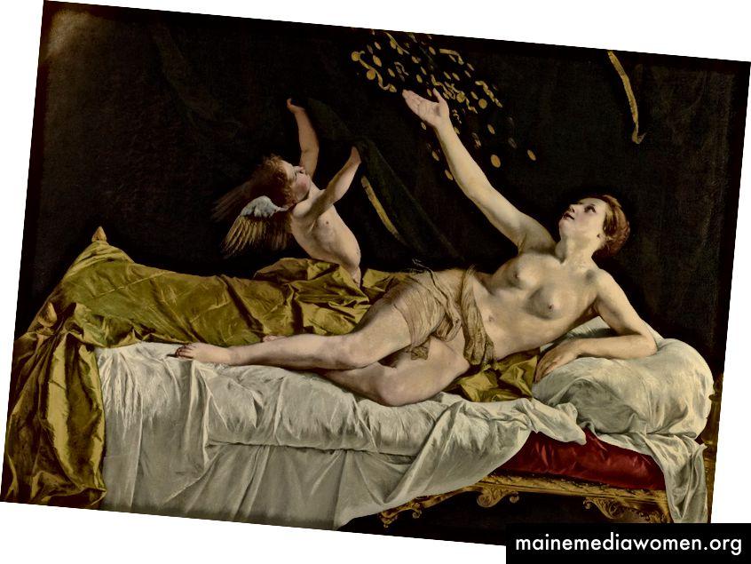 Danaë und der Goldregen