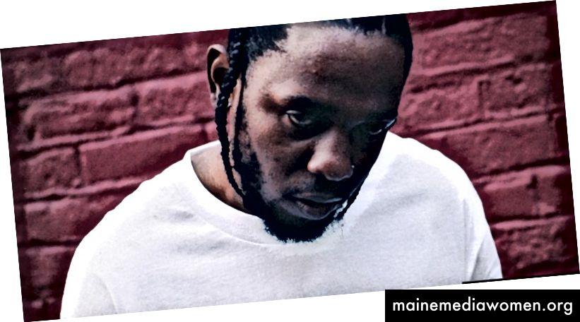 Kendrick Lamar DAMN. Bild von hier.