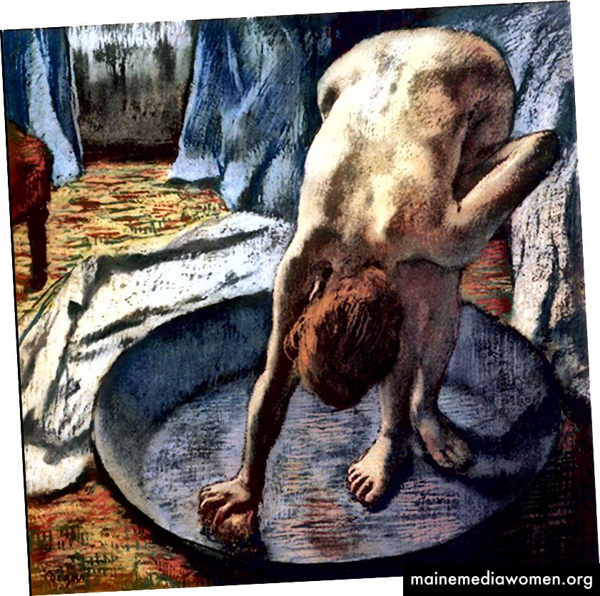 Edgar Degas, Die Wanne, (1886)