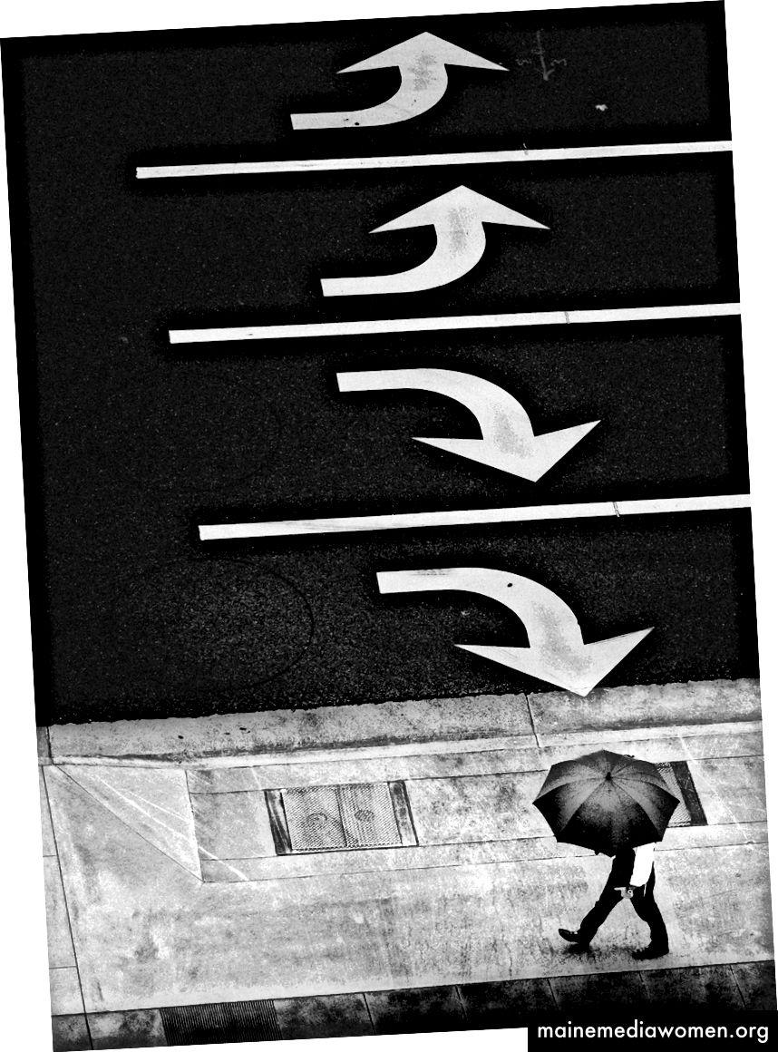 """""""So funktioniert Regen."""" Von Josh S. Rose, Los Angeles, 2017."""
