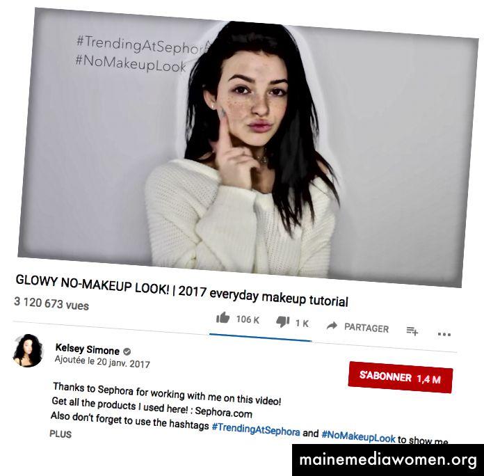 GLÜHENDES NO-MAKEUP-LOOK! | Tutorial für das tägliche Make-up 2017, 20.01.2017 (Link)