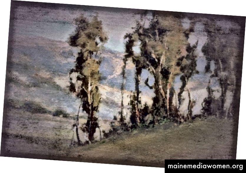Dünne Bäume von John P. Weiss