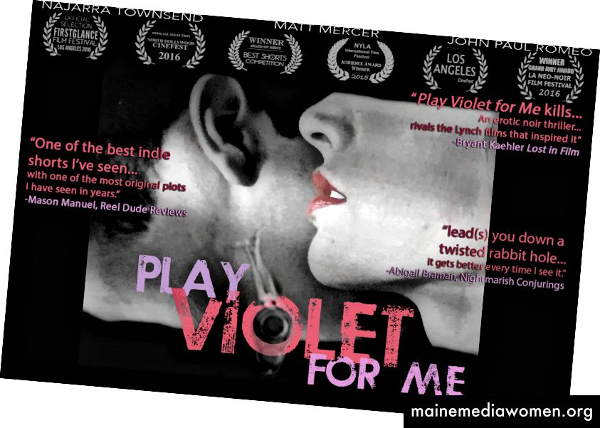 'Play Violet for Me' (2016)