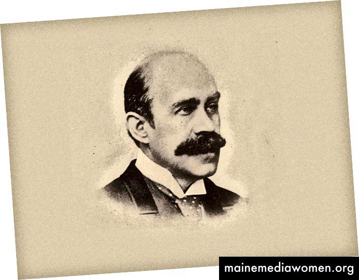 Porträt von Walter Pater    1839–1894