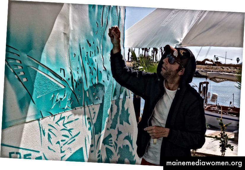 Künstler Rodrigo Sastre im El Ganzo in San José del Cabo | © Rodrigo Sastre
