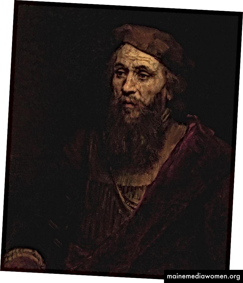 Porträt eines Mannes, 1661, Öl auf Leinwand, 71 x 61 cm, Eremitage, St. Petersburg