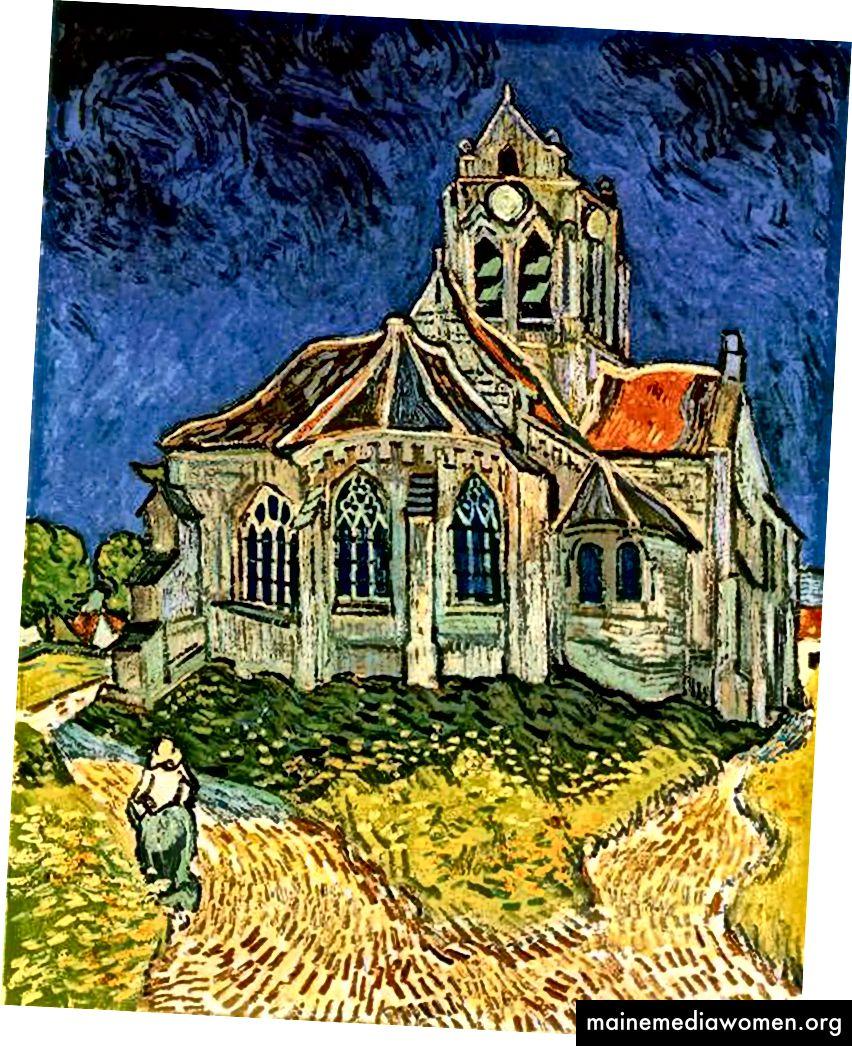 الكنيسة في أوفيرز • https://wikimedia.org/
