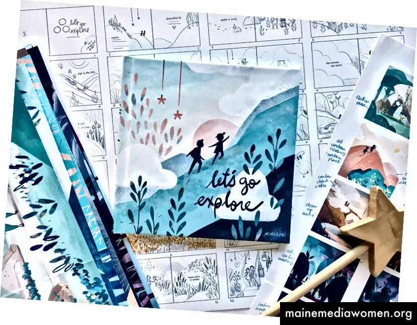 Vom Storyboard bis zur Fertigstellung: Mimis erstes Buch für Mimochai Erfahren Sie hier mehr über das Buch und wie Sie es vorbestellen können.