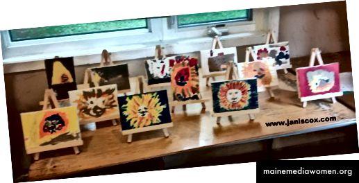 Kindergrafik im Alter von 3 bis 8 Jahren bei VBS - Daniel in der Löwengrube