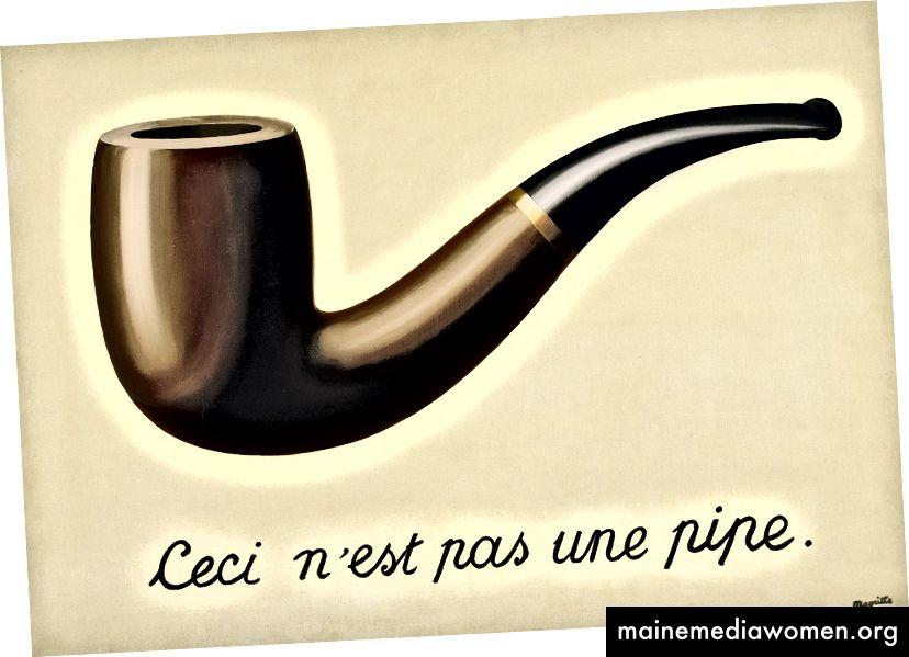 Der Verrat der Bilder, René Magritte.