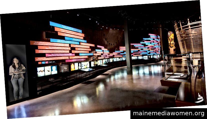 Beispiel einer digitalen Infrastruktur im kanadischen Museum für Menschenrechte