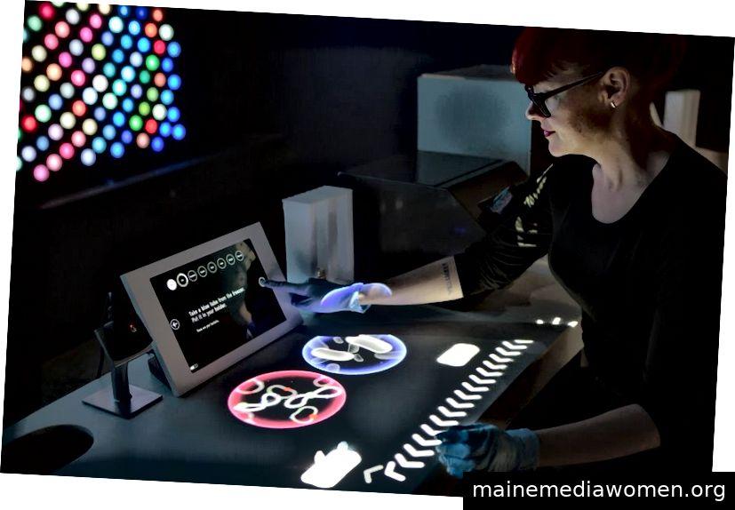 Wissenschaftliche Erfahrung im Tech Museum of Innovation