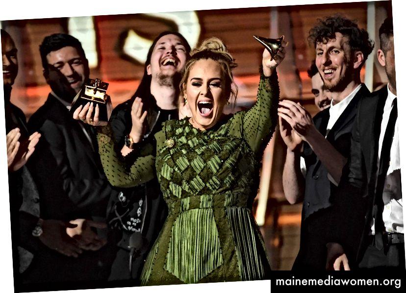 Adele bricht ihr Album des Jahres 2017 für