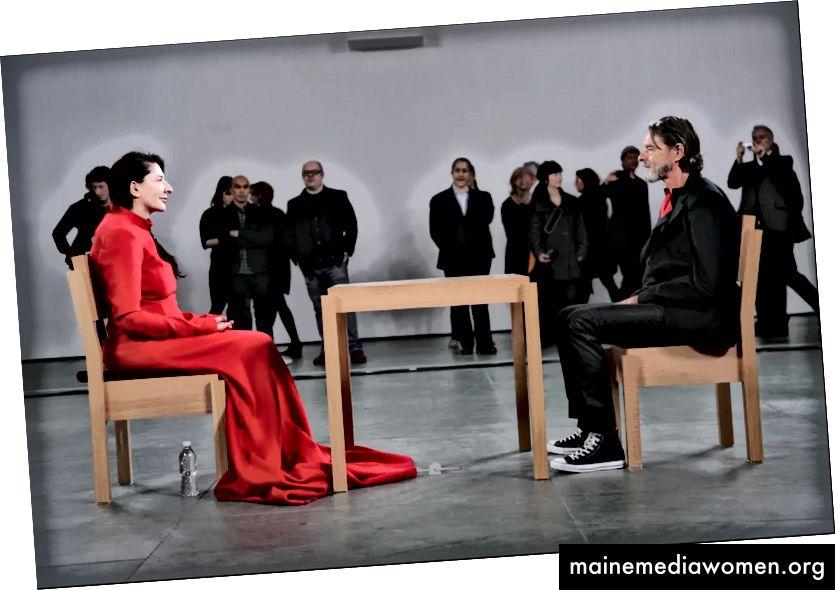 Marina Abramovic | Der Künstler ist anwesend (MoMA, 2010)