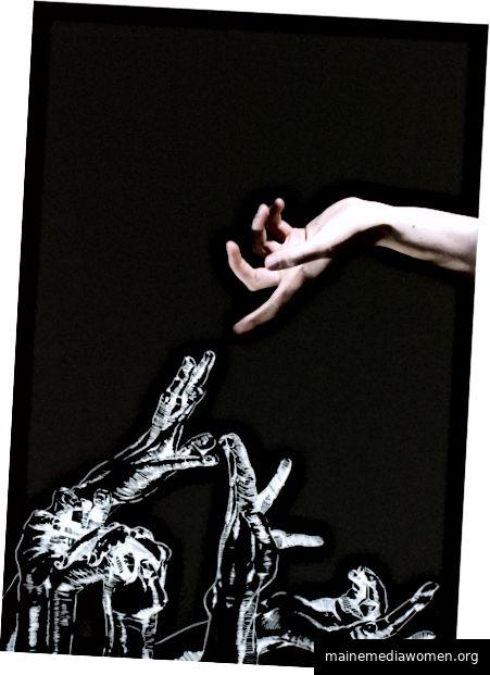 Handstudie   Eva Munday   Unterbrechung, RCA x Betreff