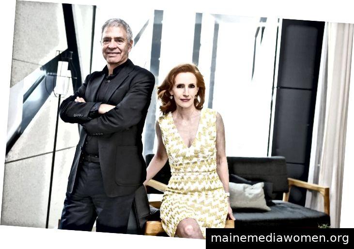 Dominique und Sylvain Levy.