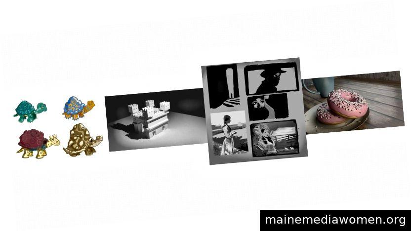 Panorama verschiedener Methoden, die ich für digitale Kunst ausprobiert habe