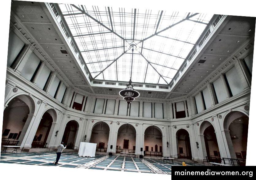 Innenraum des Brooklyn Museum. Quelle