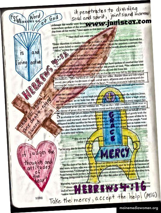 Eine meiner ersten Bibelarbeiten - Bibeljournal.