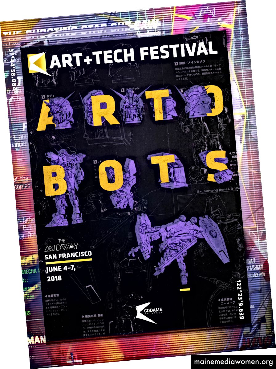 CODAME ART + TECH Festival [2018] #ARTOBOTS