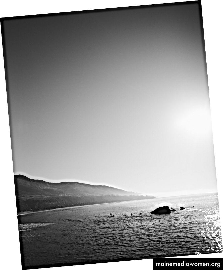 Pacific Coast Hwy, aufgenommen von Josh S. Rose, 2017