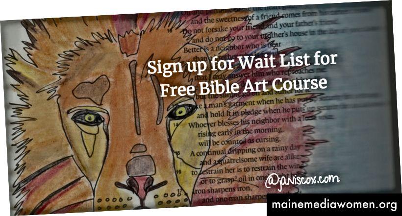 Klicken Sie auf das Bild, um sich für die Warteliste für den Bible Art-Kurs anzumelden