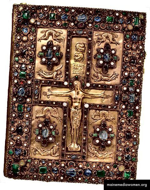 Juwelenumschlag der Lindauer Evangelien, Frankreich, um 1900 875.