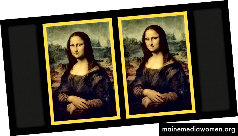Welche Mona Lisa ist welche? Bild: https://commons.wikimedia.org/wiki/Category:Mona_Lisa