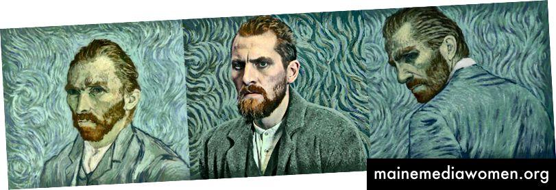 Robert Gulaczyk als Vincent van Gogh