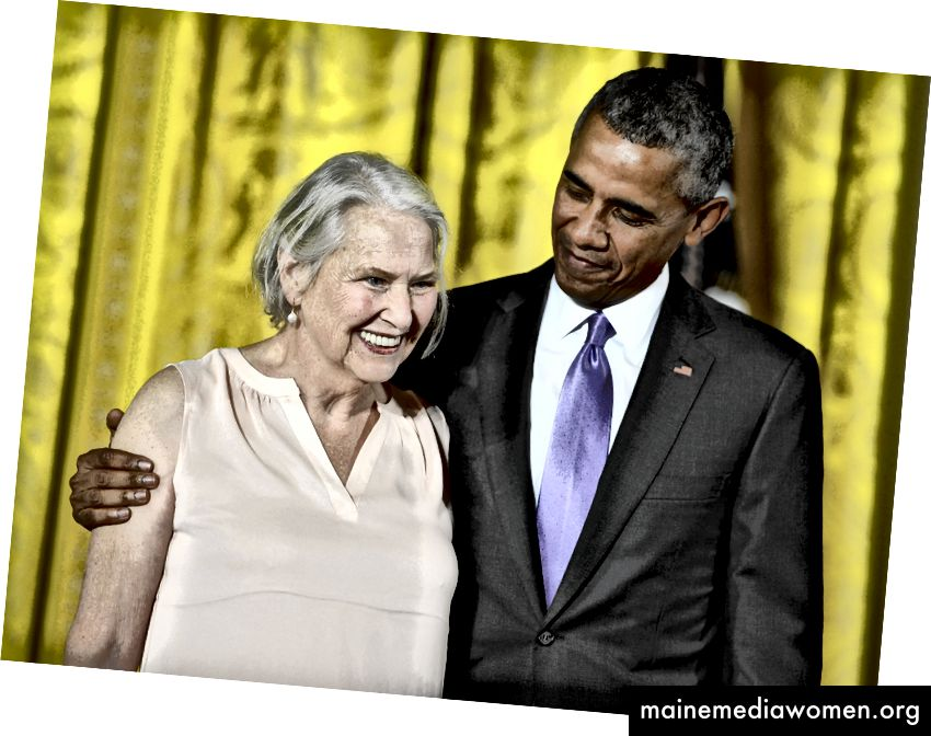 Dillard erhält die National Humanities Medal 2014 | Leigh Vogel / WireImage