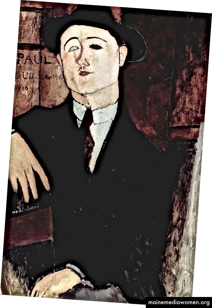 Amedeo Modigliani, Porträt von Paul Guillaume