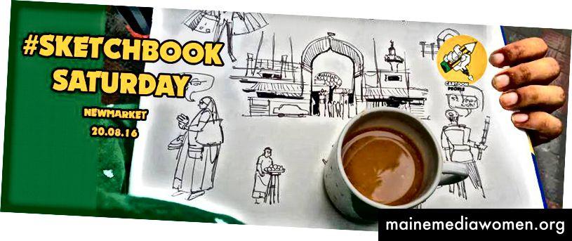 Sketchb Samstag in Dhaka Newmarket